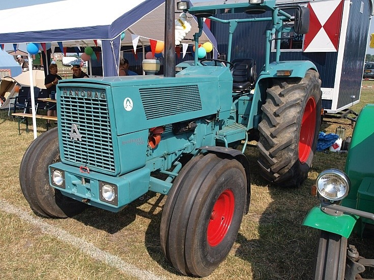 Restored Hanomag tractor