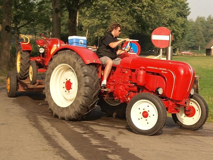 Porsche Diesel Master tractor