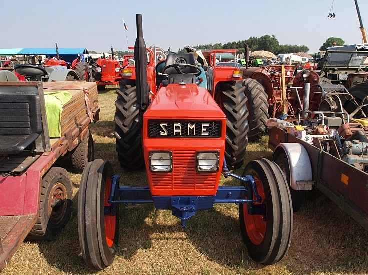 Restored Same tractor