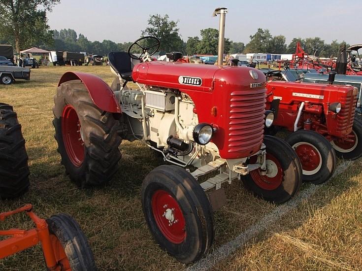 Restored Steyr tractor