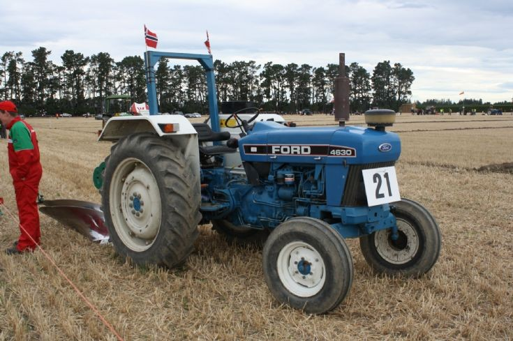 Ford 4630 tractor at WPC