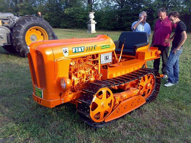 Fiat 312c crawler tractor