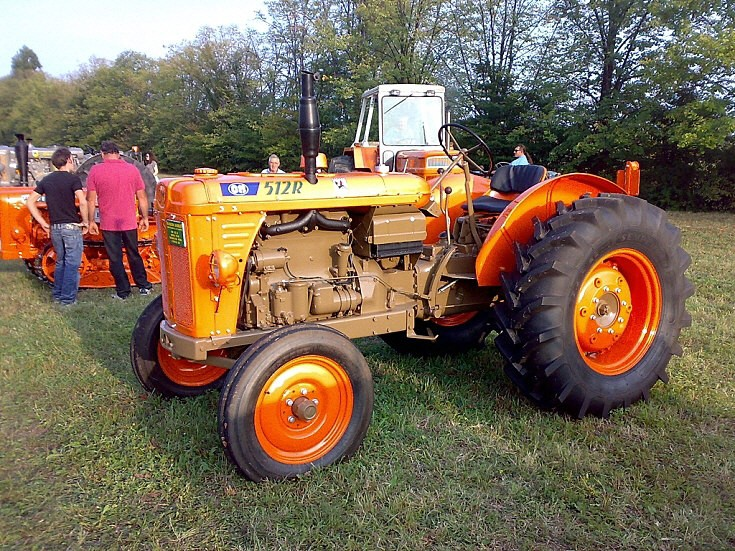 Fiat 512R tractor