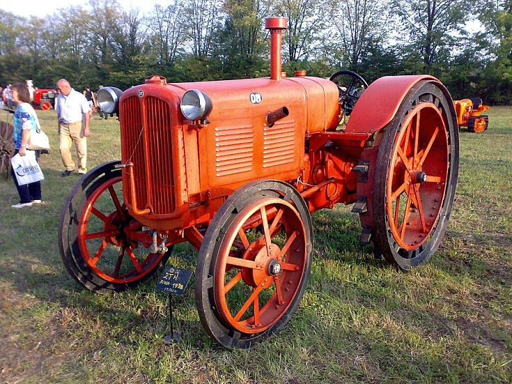 1938 OM 2TM tractor