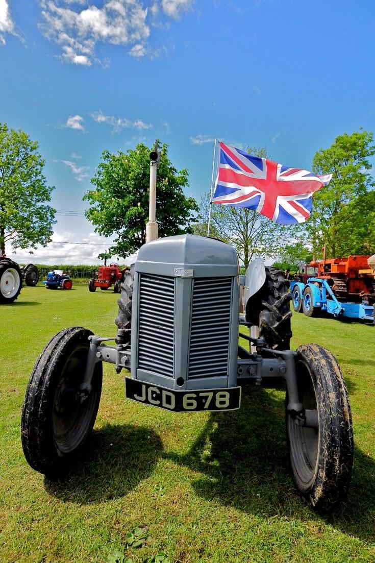 Old Ferguson tractor JCD678