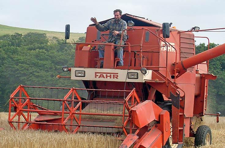 Fahr Combine Harvester