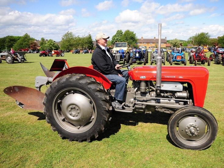 Massey-Ferguson 35 tractor