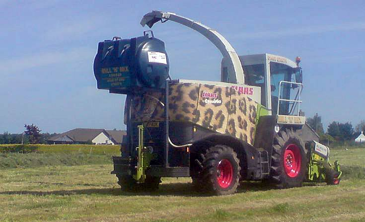 Mill 'N' Mixes Claas Jaguar Speedstar