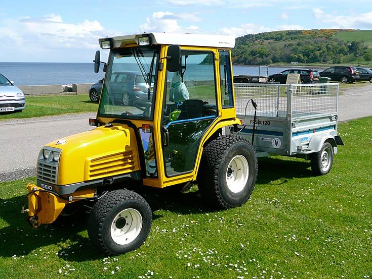 Iseki Compact Tractor, Cromarty