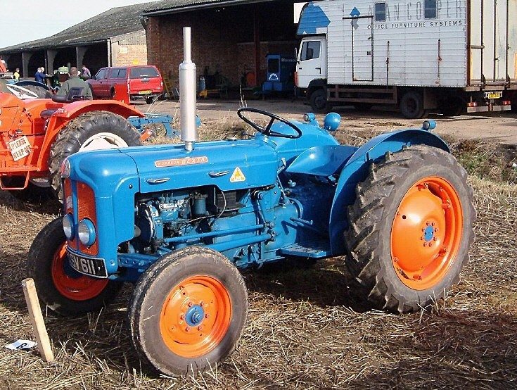 Fordson at ploughing match