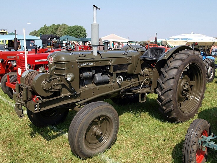 BM 350 tractor
