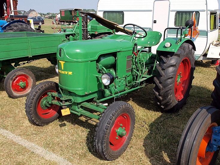 Old Deutz tractor