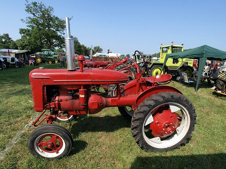Side view of Farmall