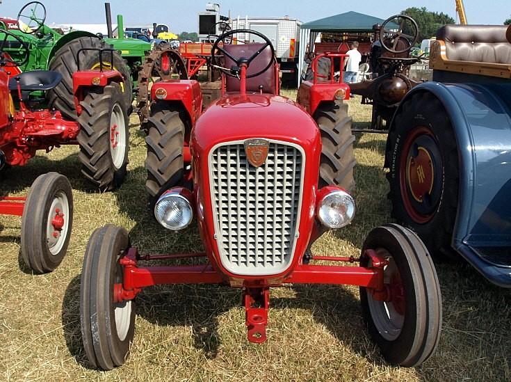 Sleek looking tractor