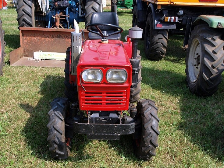 Photo of a Yanmar tractor