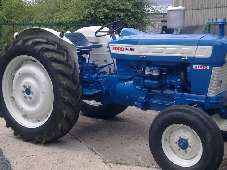ford 4000 major preforce