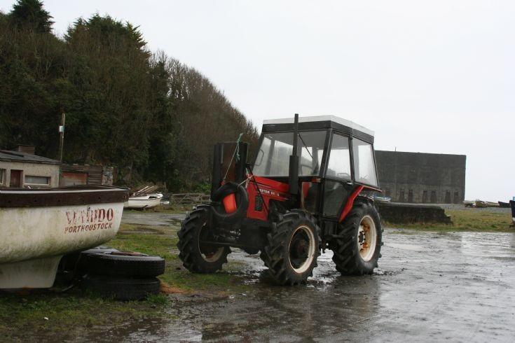 Zetor boat tractor
