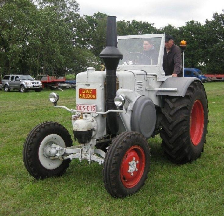 Lanz Bulldog tractor at Bocholt