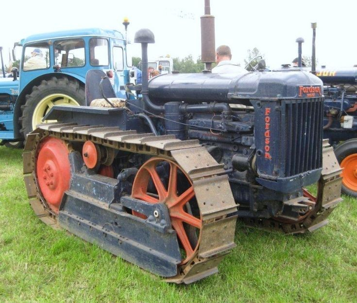 Fordson tracked tractor