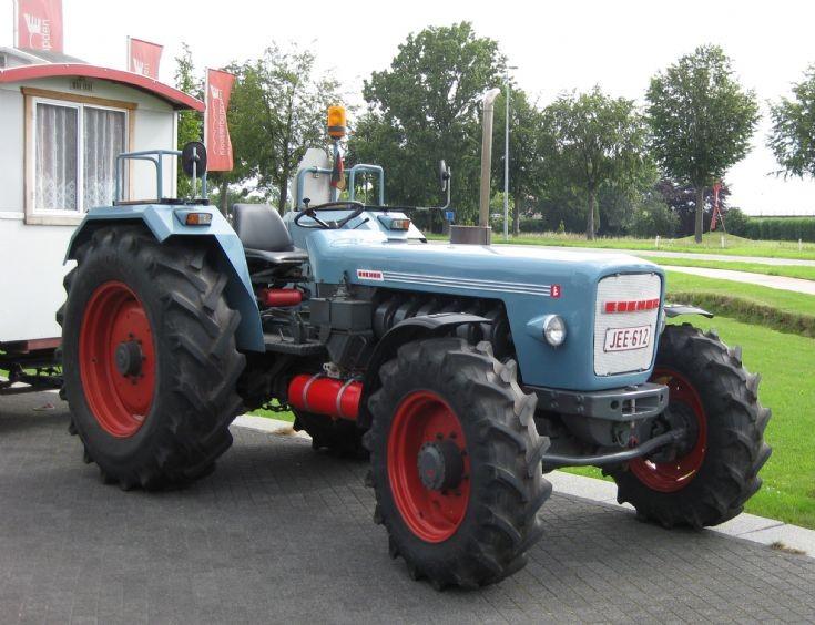 Eicher in Belgium