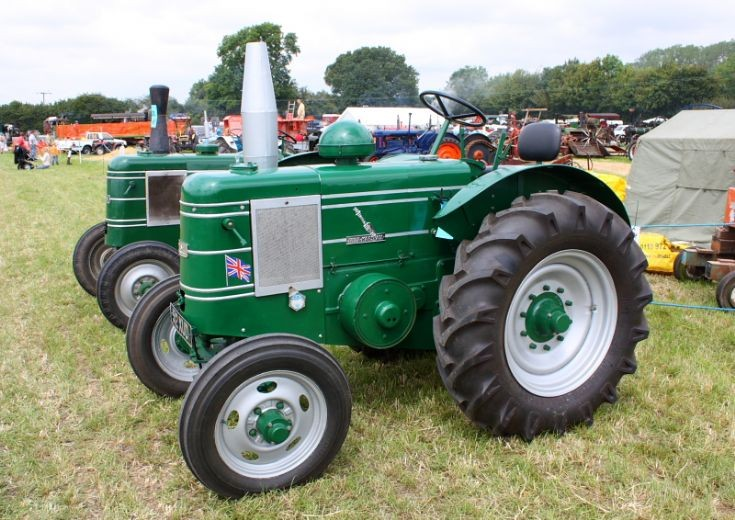 Classic tractor at Stoke Row Steam Rallye