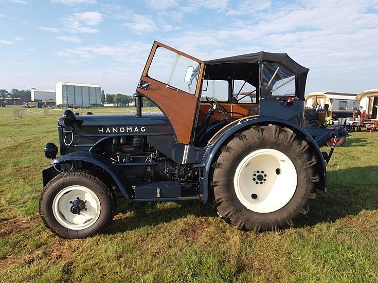 Classic Hanomag tractor