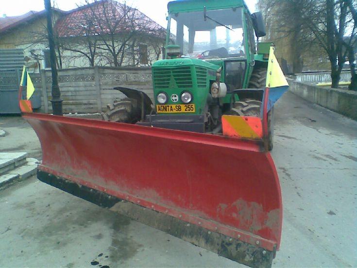 Deutz tractor in Romania