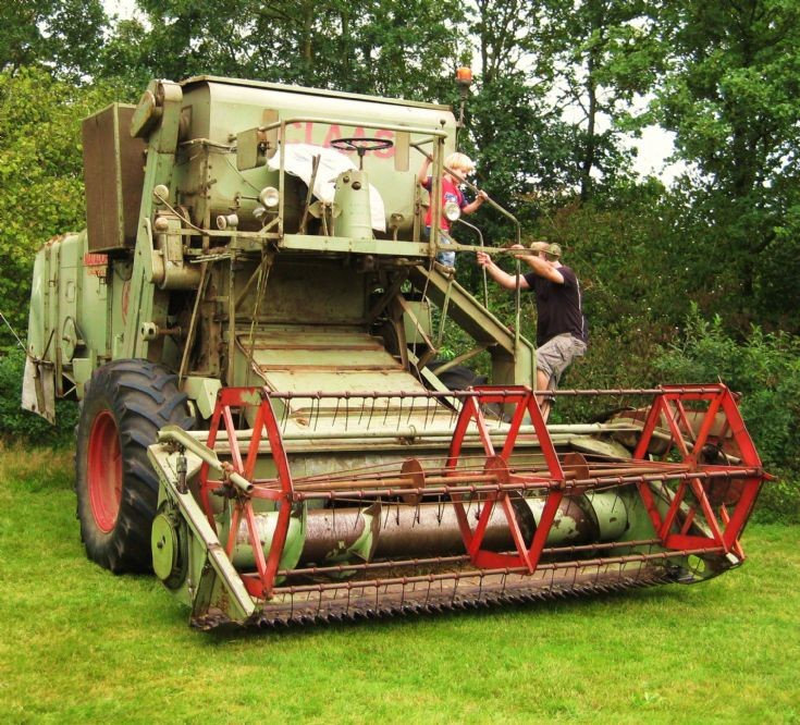 Claas Oldtimer in Altweerterheide