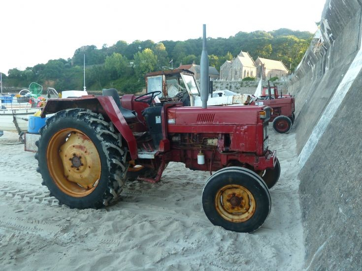 International Harvester boat tractor