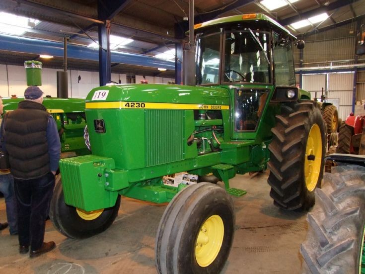 4230 John Deere : John deere tractor car interior design