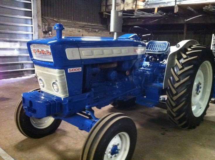 1973 Ford Tractor 5000 Parts : Ford pre force autos post