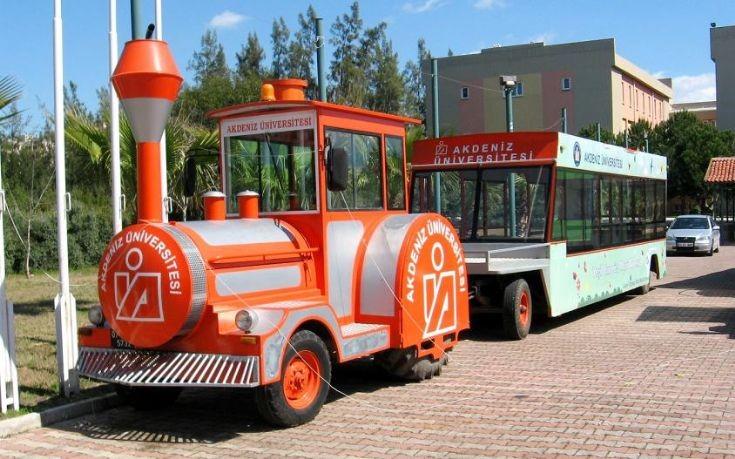 University of Akdeniz - Tractor Bus 4