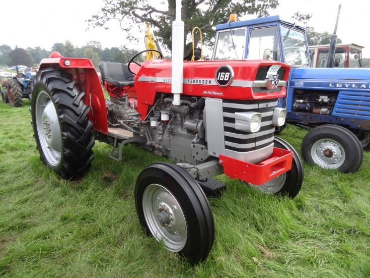Tractor at Perth Scone Vintage Show