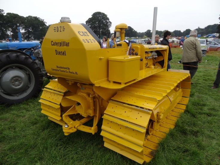 Manufactured by Caterpillar Tractor Co.