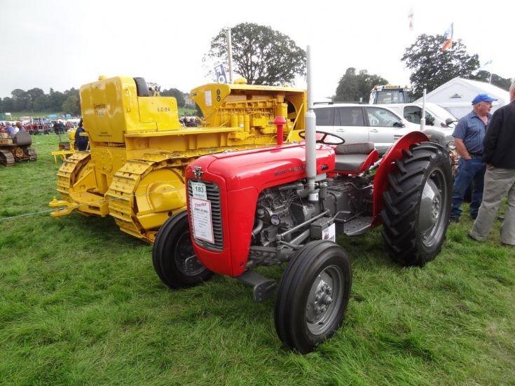 Cat D8 & MF 35X at Perth