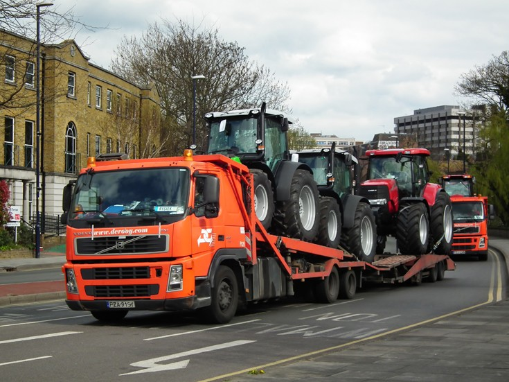 Tractors in Transit