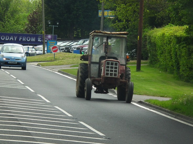 Tractor in Sussex