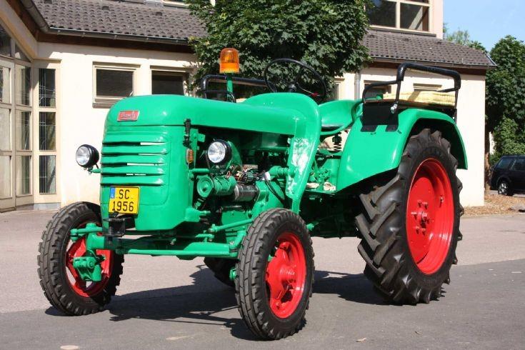 Bautz tractor