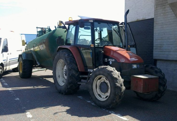 New Holland tractor in Rhyl