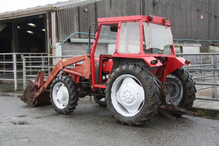 Massey Ferguson 250 at auction