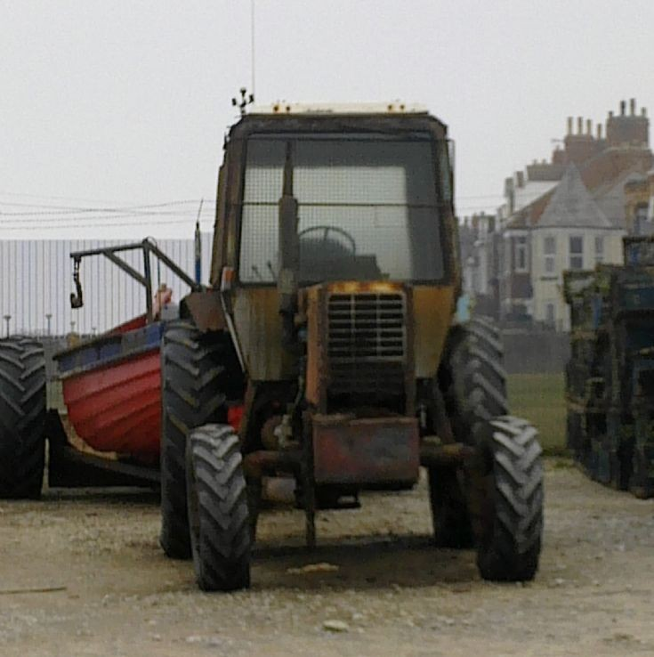 Old Beach Tractor