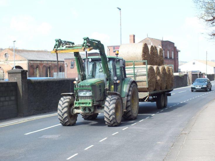 John Deere 6330 in Exeter