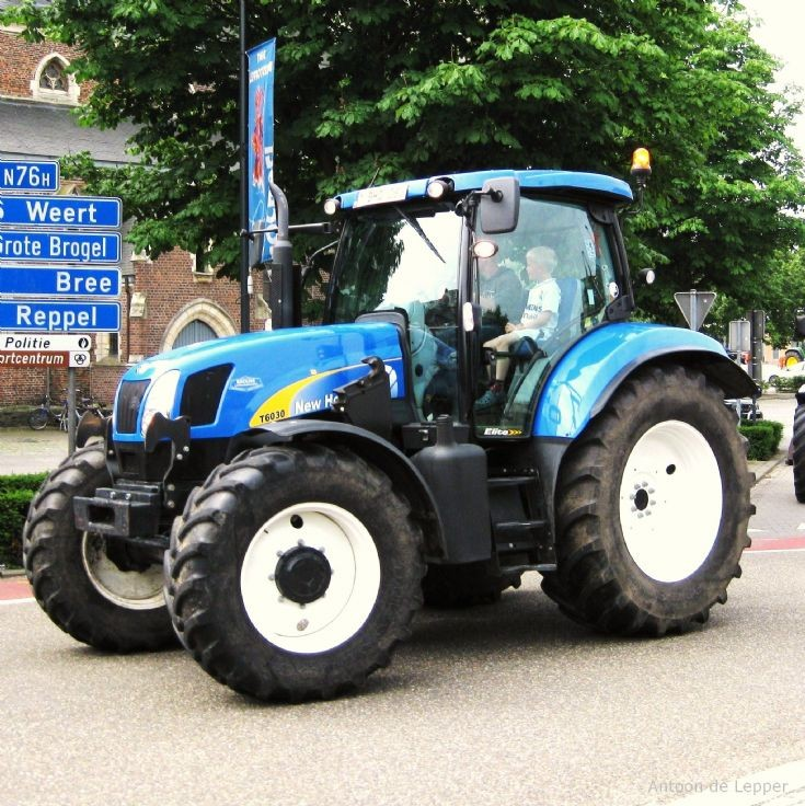 New Holland in Belgium