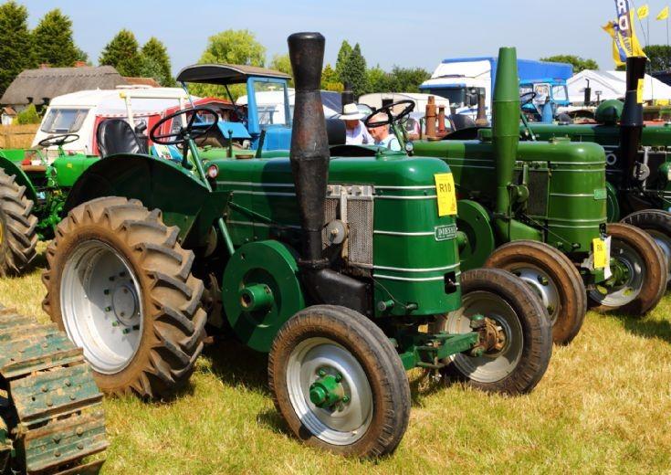 Field Marshall at Woodcote Steam Rally