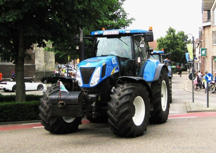 another New Holland in Belgium.