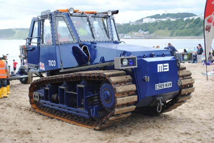 Lifeboat Recovery Tractor