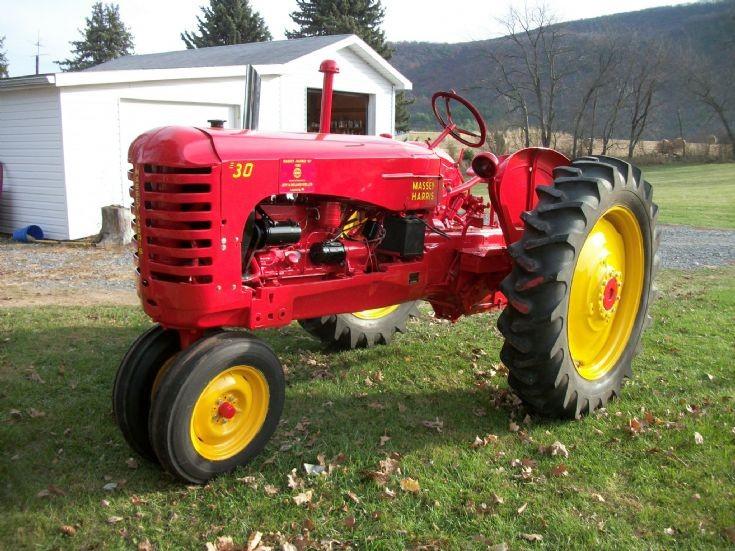 Massey Harris Tractor : Tractor photos restored massey harris