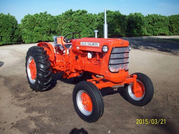 1960 Allis Chalmers D-14 Tractor  Glen Fowler