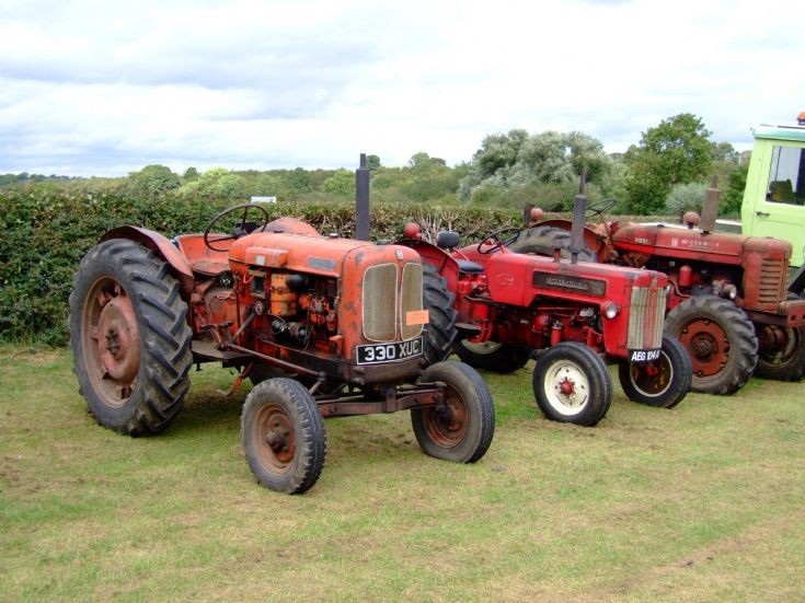 Nuffield, International and McCormick Tractors