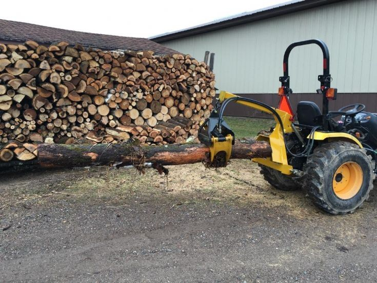 3 point log grapple for sale